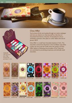 Lastest catalogue - chocolate
